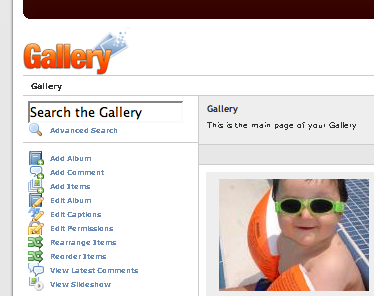 gallery, embedded