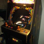 Mame Cab - first prototype setup with temporary control panel