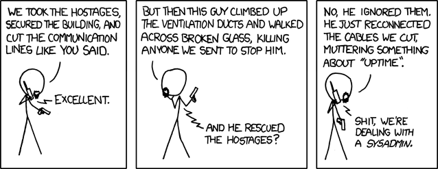 XKCD - devotion to duty