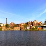 Stettin, von der Westoder aus gesehen